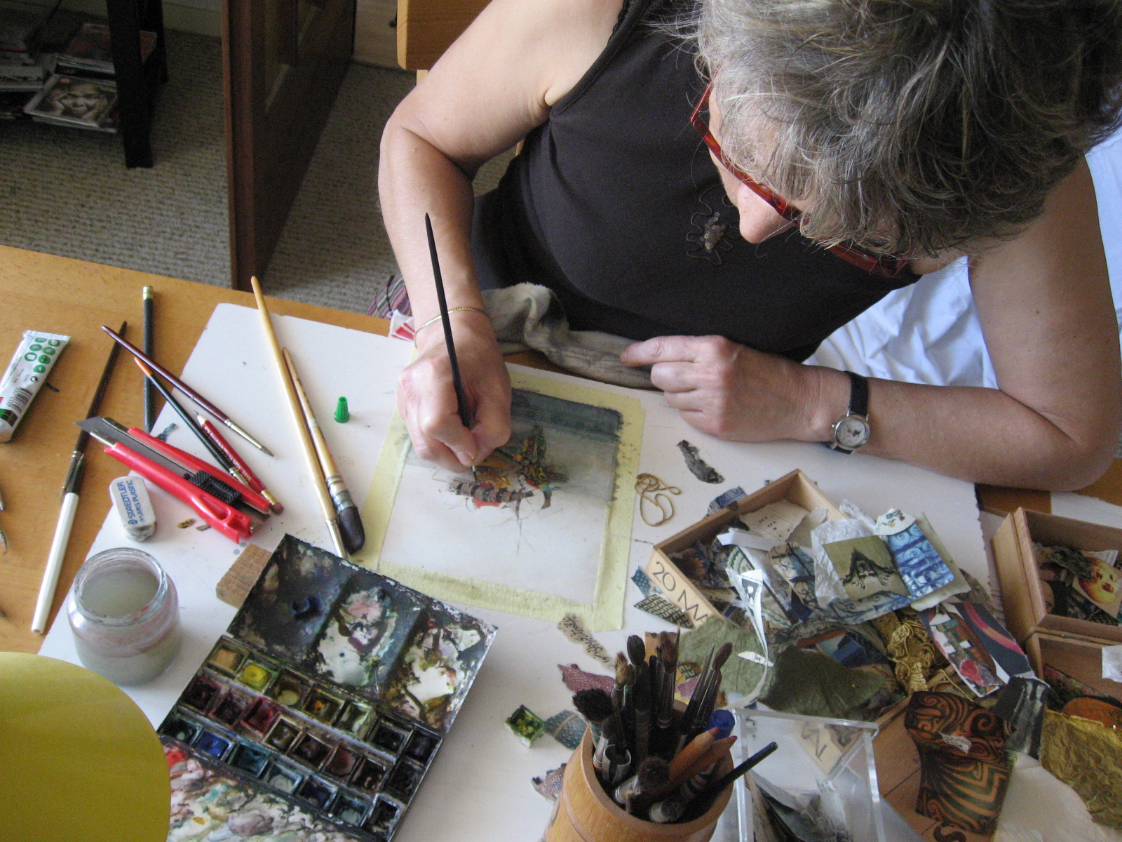Olympe Debarnot - Peintre